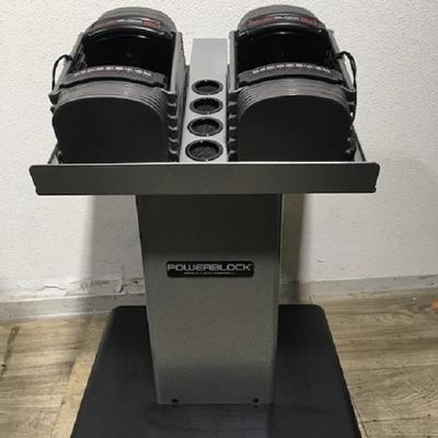 パワーブロック SP50 (23kg×2) 可変式ダンベル
